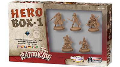Zombicide Black Plague - Hero Box 1