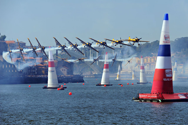 Red Bull Air Race não acontecerá no Porto em 2018