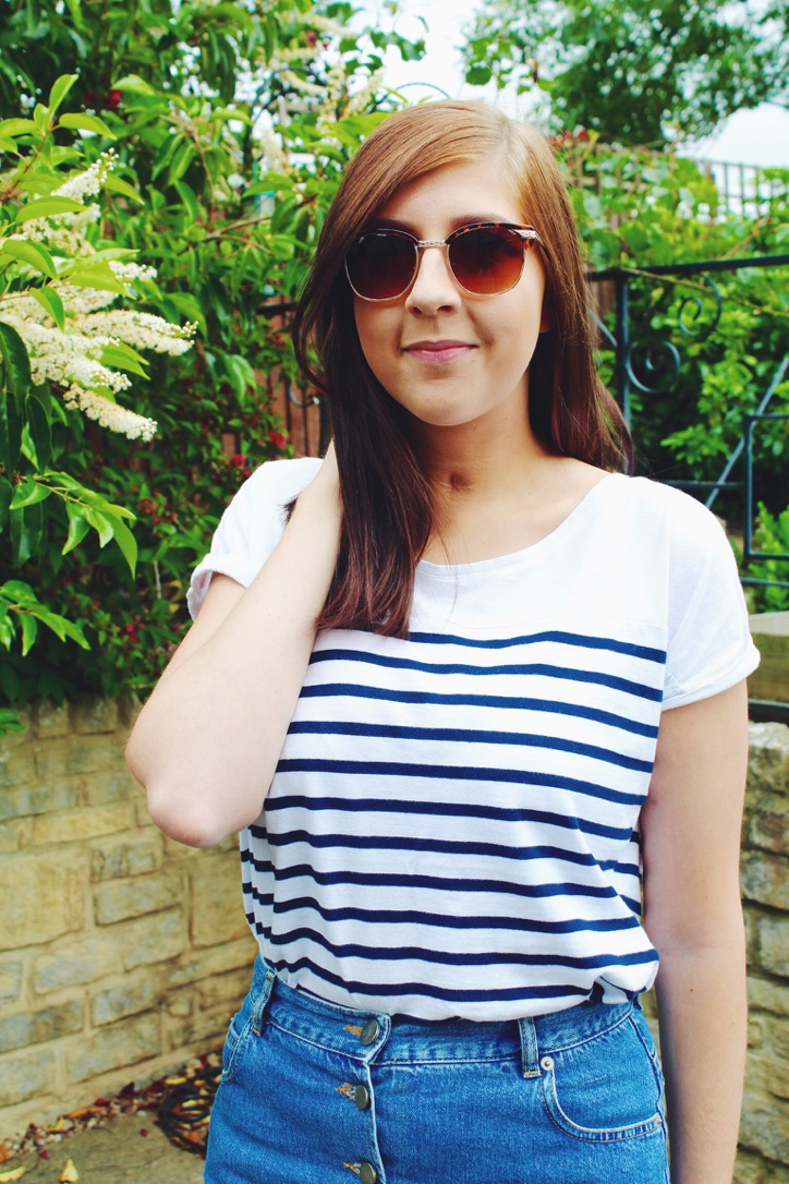 asos, denimskirt, primark, silvershoes, pullandbear, stripedtop, fbloggers, fblogger, ootd, outfitoftheday, lotd, lookoftheday, wiw, whatimwearing, asseenonme, fashion, fashionbloggers, fashionblogger, fashionpost