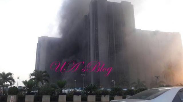 JUST IN: Fire outbreak at CBN headquarters
