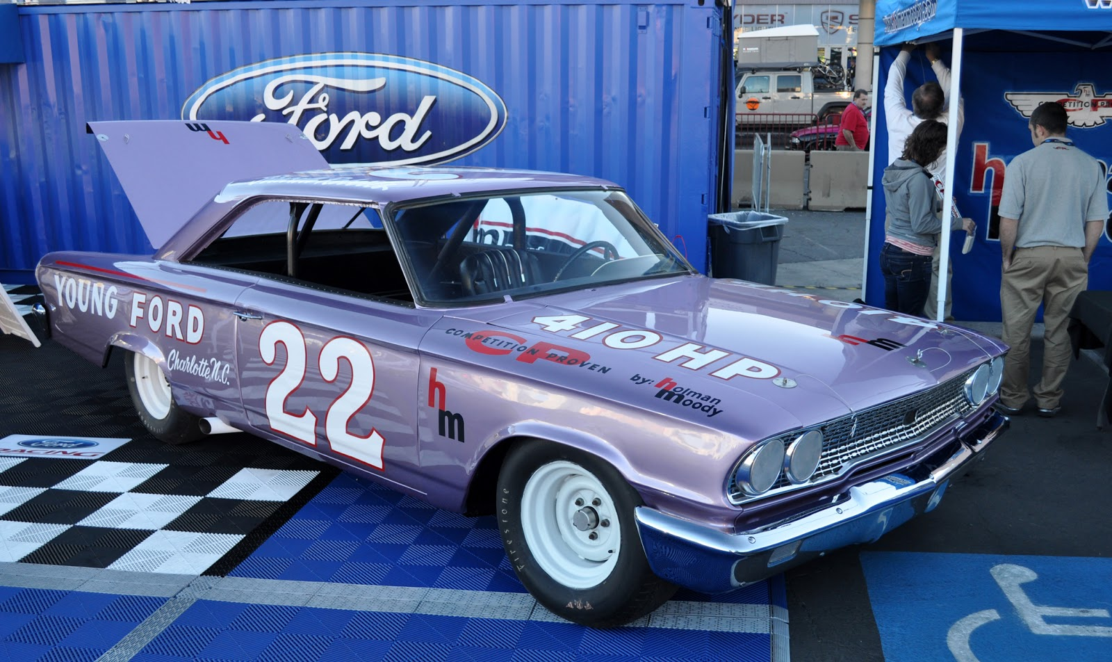 Just A Car Guy: the Holman Moody prepped, Fireball Roberts