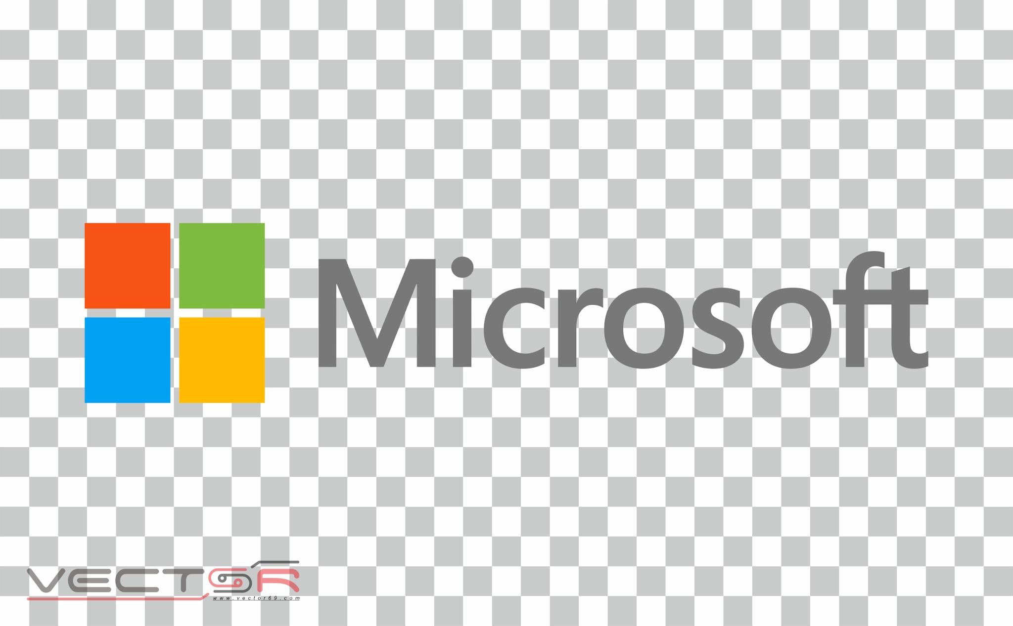 Microsoft Logo - Download .PNG (Portable Network Graphics) Transparent Images