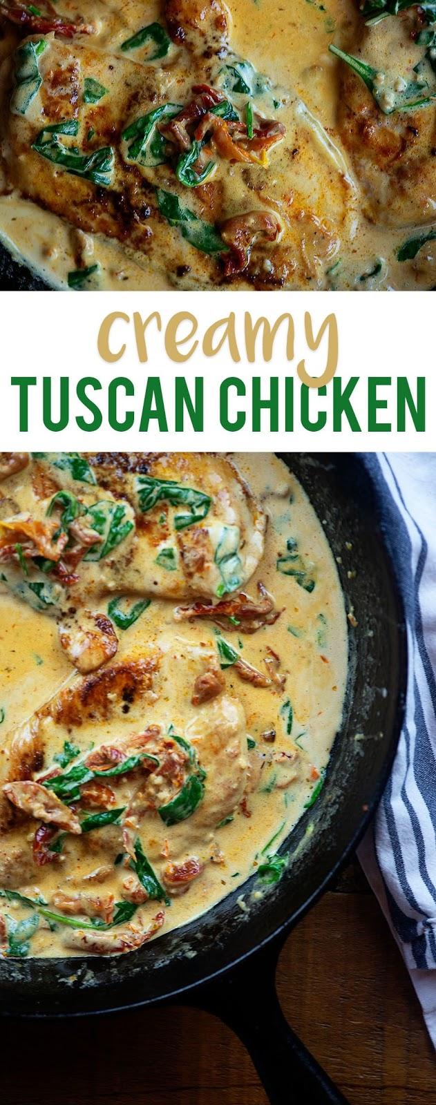 Creamy Tuscan Chicken Recipes