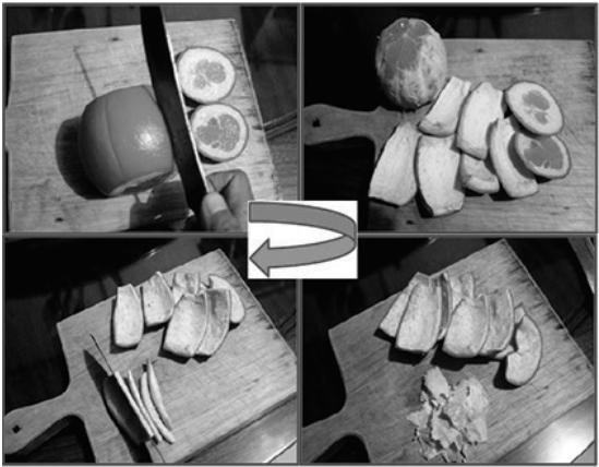 Proses Pembuatan Manisan Kulit Jeruk 1-4