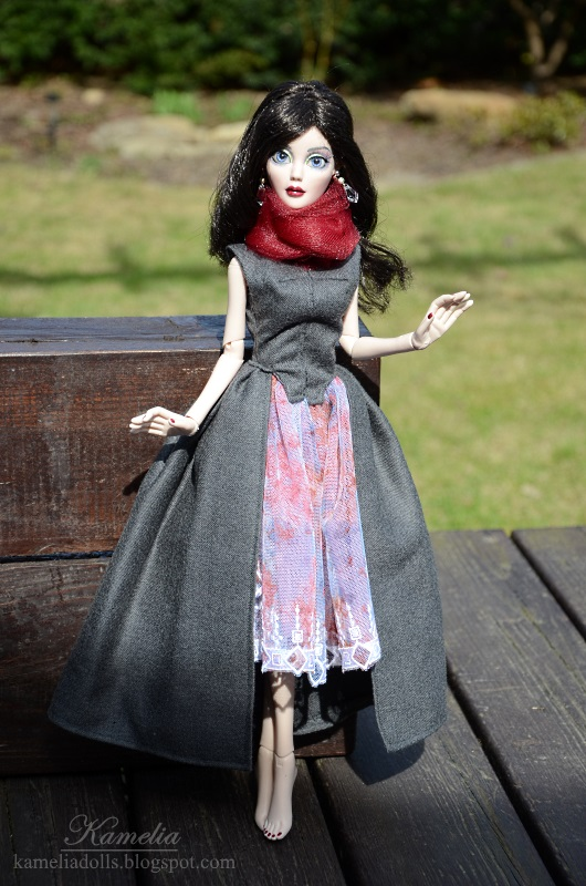 Handmade outfit for Evangeline Ghastly Wilde Imagination doll