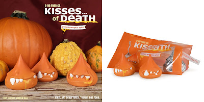 Kisses of Death Poison Pumpkin Spice Edition Resin Figure Set by Andrew Bell