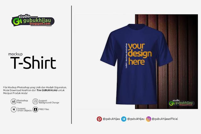 Mockup T-Shirt By Gubuk Hijau