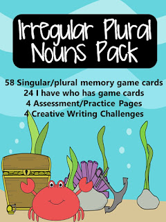 https://www.teacherspayteachers.com/Product/Irregular-Plural-Nouns-Pack-1112026