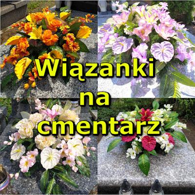 Wiązanka na cmentarz