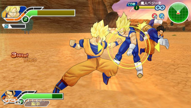 DRAGON_BALL_Z_TENKAICHI_TAG_TEAM_ANDROID_PSP_GAME