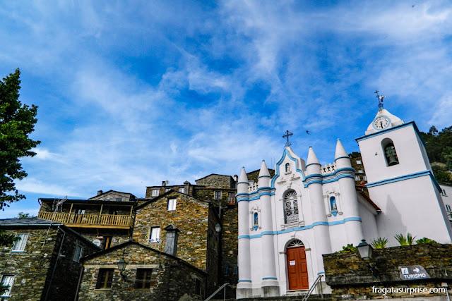 Piódão, aldeia de xisto na Serra do Açor, Portugal