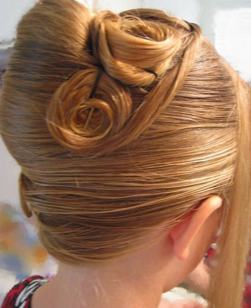Enjoyable French Twist Braids Short Hairstyles Gunalazisus
