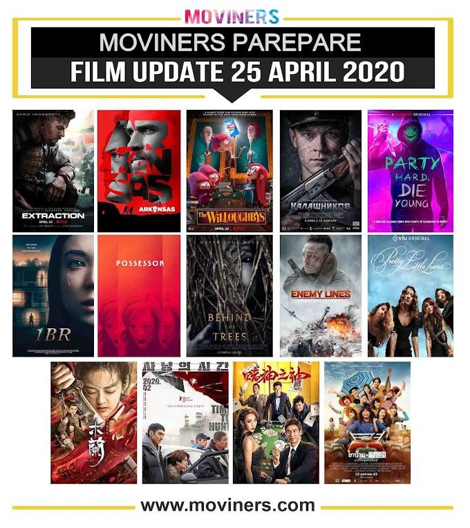 FILM UPDATE 25 APRIL 2020