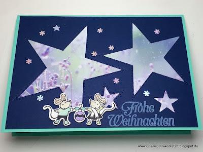 """Weihnachtskarten """"Warm & Toasty"""" - Weihnachten mit Tieren Stampin' Up! www.eris-kreativwerkstatt.blogspot.de"""
