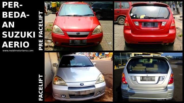 Perbedaan Suzuki Aerio