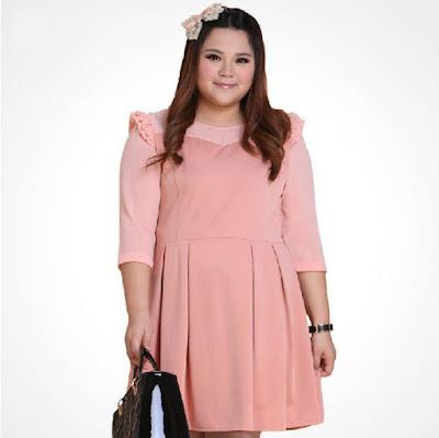 Dress Pendek Wanita Big size Terbaru