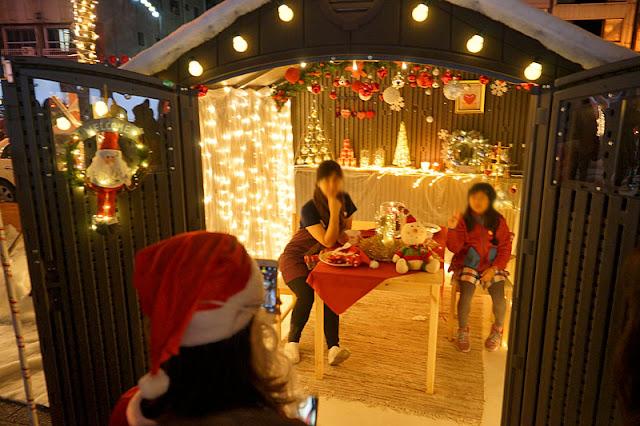 DSC09951 - 台中聖誕市集2017│規模不大吃的少逛的多,但有聖誕老公公可以合照