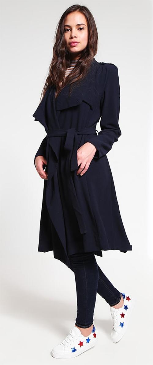 Manteau femme léger bleu marine OBJECT Collectors Items