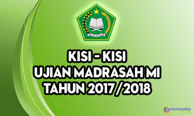 Download Kisi - Kisi UM MI Tahun 2017/2018