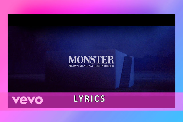 Monster Song Lyrics And Karaoke By Shawn Mendes And Justin Bieber