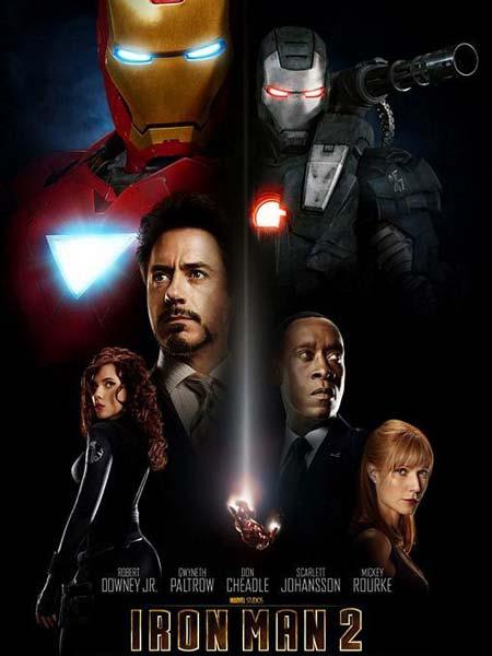 Iron Man 2 BRRip 700MB Poster