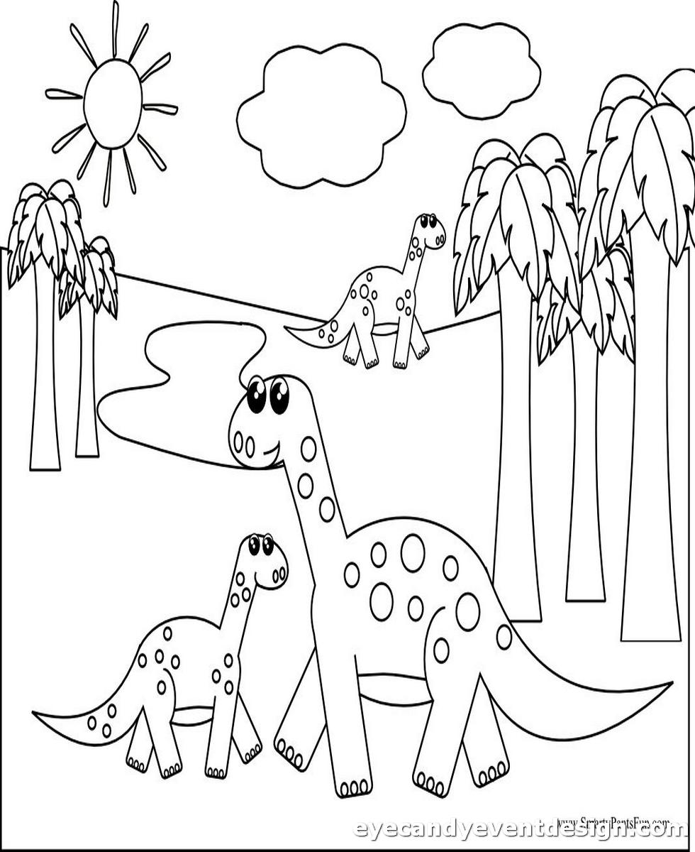 Dinosaurier Ausmalbilder Kostenlos