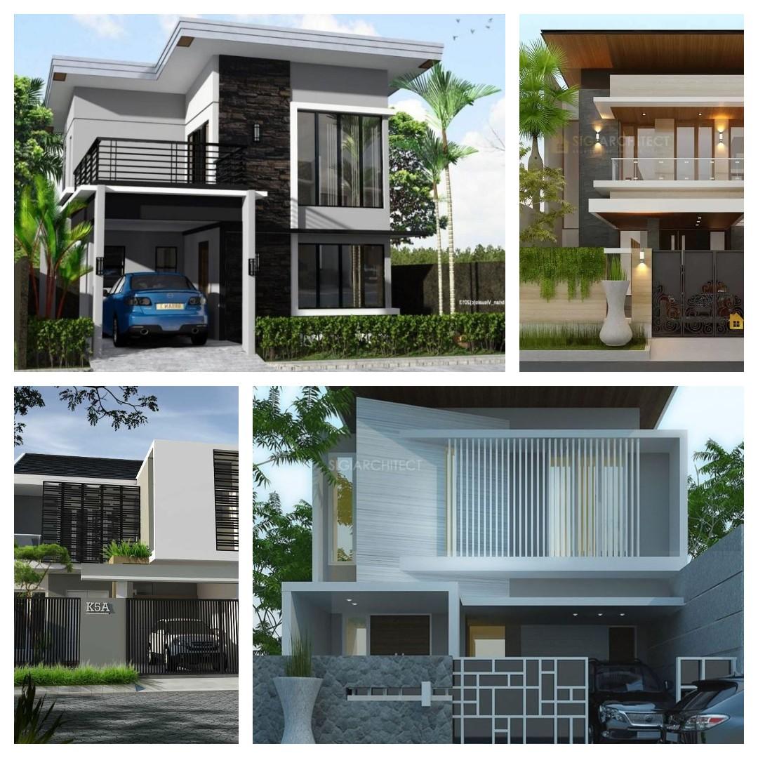 rumah minimalis 2 lantai terbaik