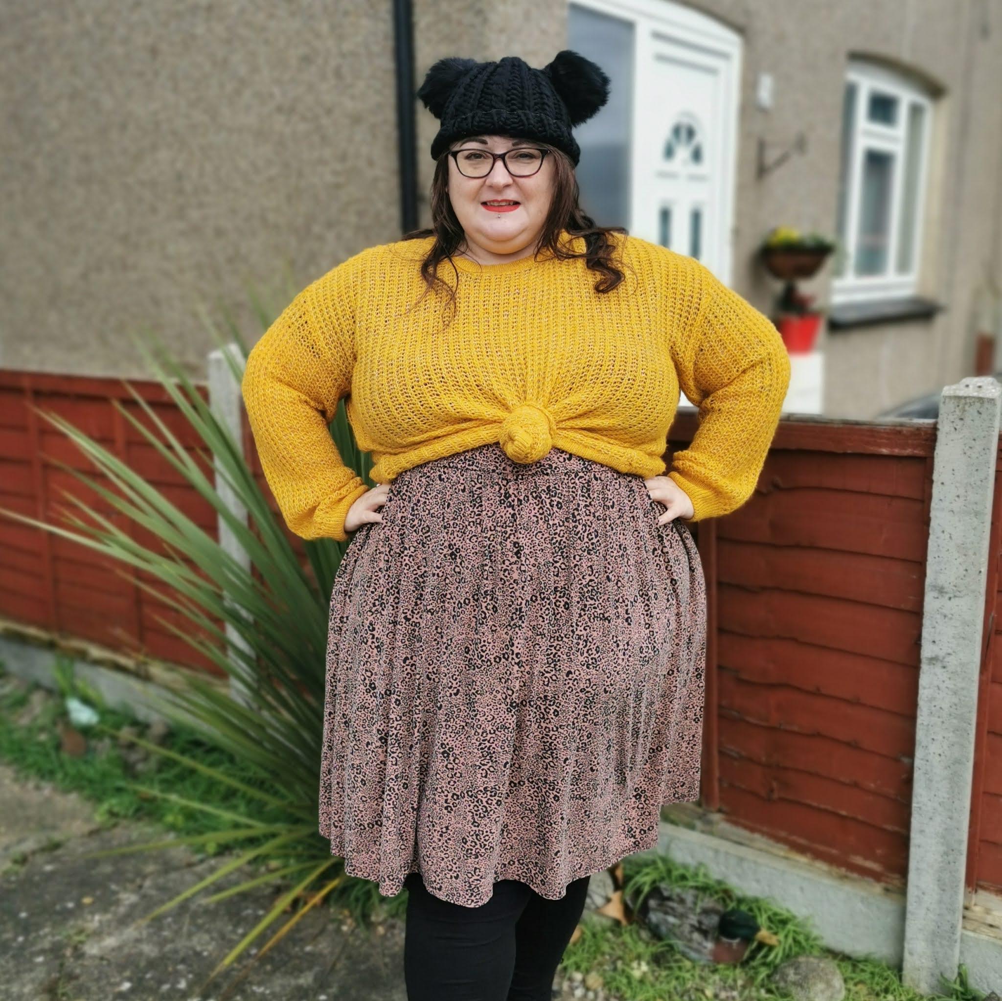 Plus size Simply Be leopard print dress