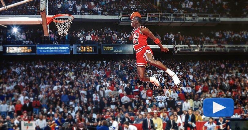 """Michael """"Air"""" Jordan Tribute - Best Moments"""
