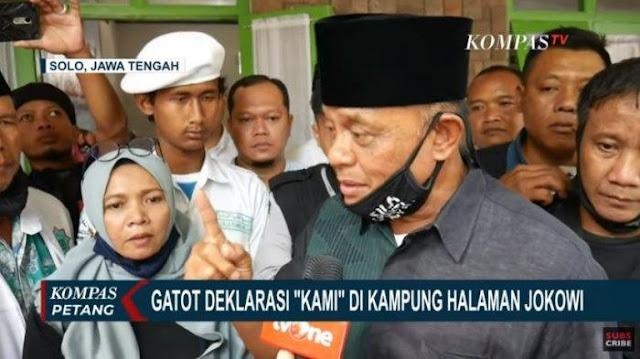 Gatot Nurmantyo Datangi Kampung Halaman Jokowi, Ketua KAMI Solo: Diam Ditindas atau Melawan