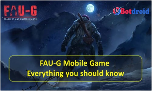 FAUG Release Date and Time, Faug Game download APK, Game Size, Game play Details