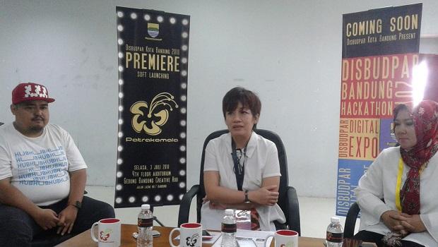 """Disbudpar Kota Bandung Gelar Soft Lounching Portal Digital  """"Patrakomala"""""""