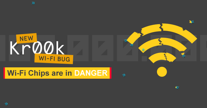 Black Hat USA 2020: Dangerous Wi-Fi KrØØk Vulnerability Affected More wi-fi chipset Than Previously Disclosed