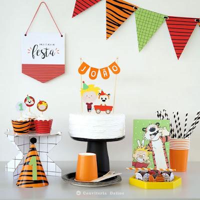 kit festa calvin haroldo aniversario infantil