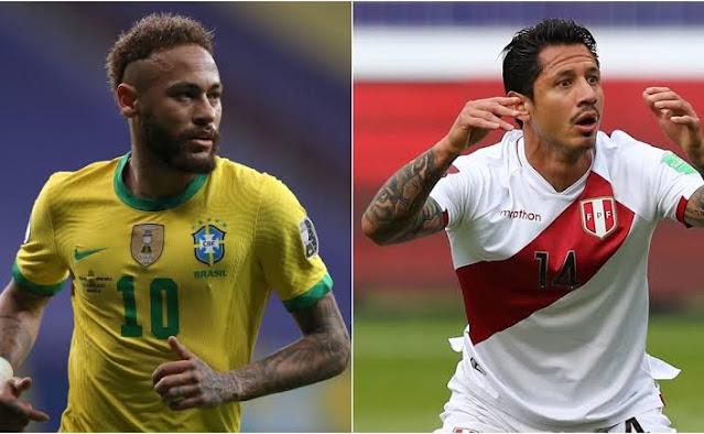 مشاهدة مباراة البرازيل وبيرو بث مباشر يلا شوت