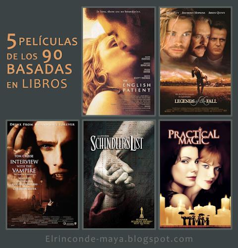 5 Películas De Los 90 Basadas En Libros