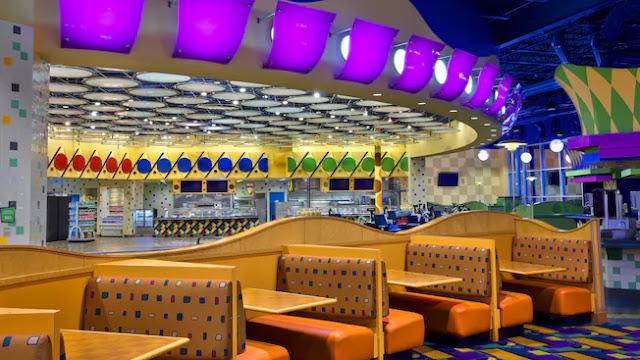 Restaurante do Hotel Pop Century