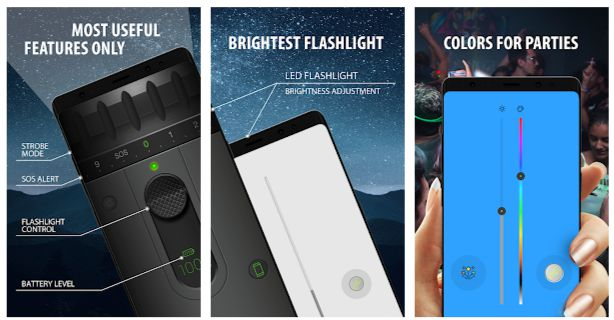 Color LED Flashlight Selene Pro Apk