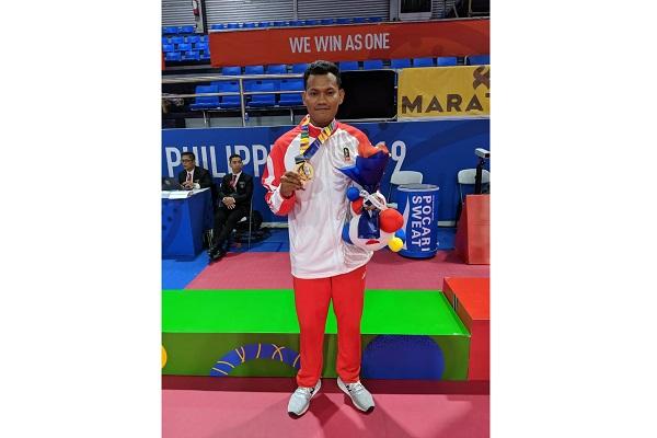 Prajurit Diponegoro Raih Medali Emas Sepak Takraw Sea Games 2019