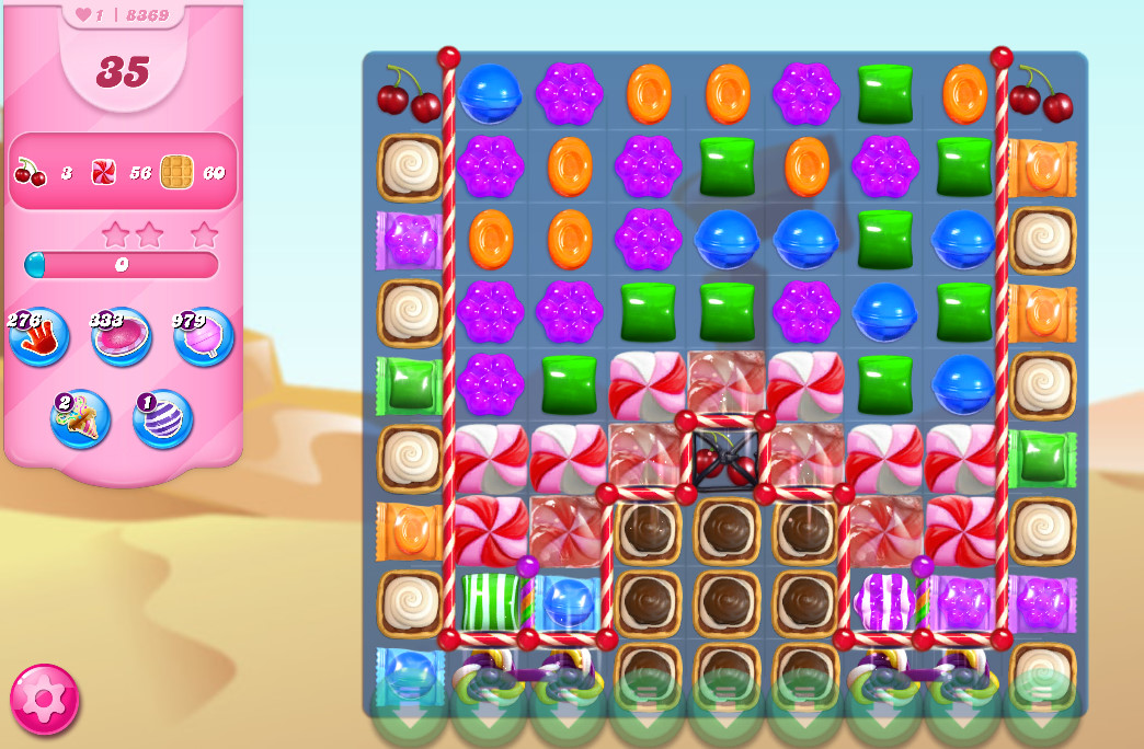Candy Crush Saga level 8369