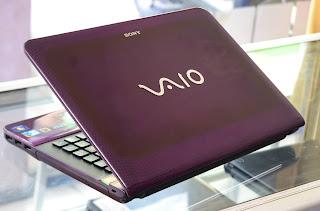Jual Laptop Sony Vaio VPCEA36FM Core i3 di Malang