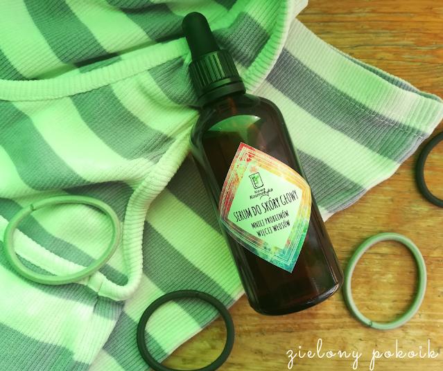 Kosmetycznie: Nowa Kosmetyka - Serum do skóry głowy
