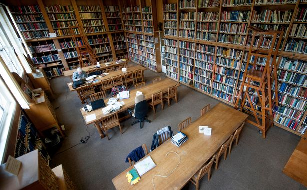 Art Library Birmingham University