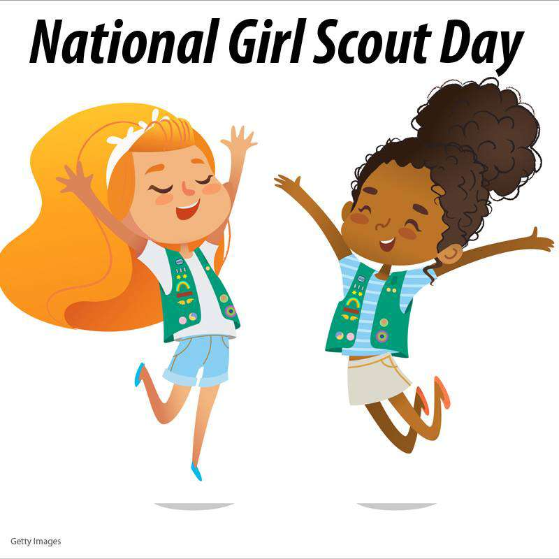 National Girl Scout Day Wishes Photos