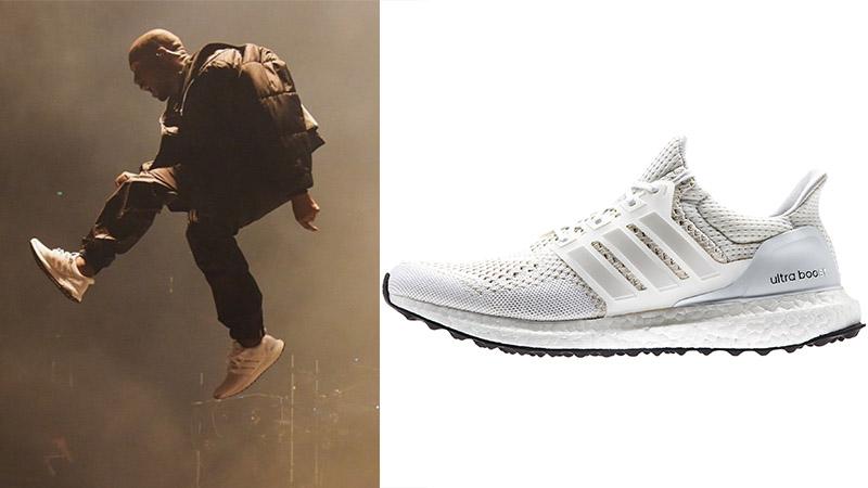 menggunakan Adidas Ultraboost white on white. Source  gq.com 75085d49cc