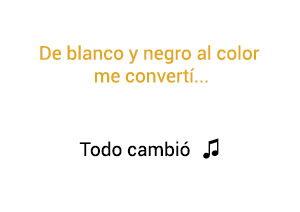 Camila Todo Cambió significado de la canción.