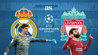Real Madrid vs Liverpool : Champions League Live Stream