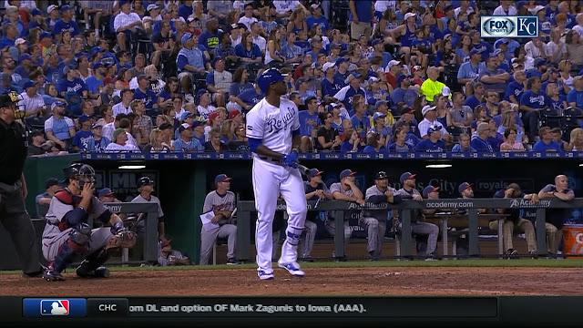 Jorge Soler la puso en órbita, en batazo que recorrió un estimado de 417 pies por todo el jardín izquierdo, con uno a bordo y dos outs en el sexto inning.
