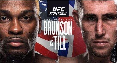 Watch UFC Fight Night Brunson vs Till 9/4/2021 Online
