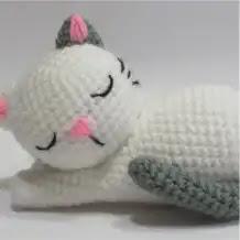 Amigurumi Gatito a Crochet